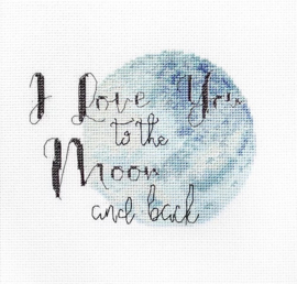 Borduurpakket LETI 932 Love you to the moon