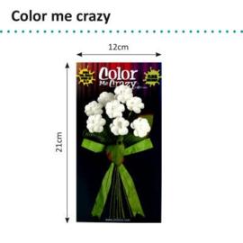 Petaloo • Color me crazy bouquets wild flowers - Papieren bloemen  (8 stuks)