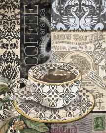 Borduurpakket LETI 993 Coffee B
