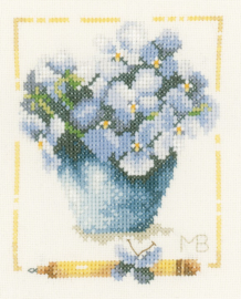 Marjolein Bastin - Pot met Hortensia