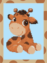 DIAMOND PAINTING CUTE BABY GIRAFFE - FREYJA CRYSTAL