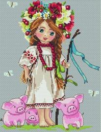 LITTLE GIRL: SHEPHERD GIRL