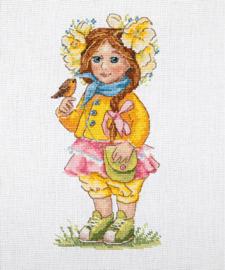 LITTLE GIRL: SPRING GIRL