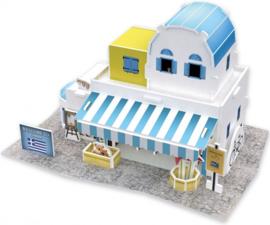 3D Puzzel SOUVENIER SHOP GRIEKENLAND