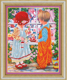 KRALEN BORDUURPAKKET FIRST LOVE - ABRIS ART