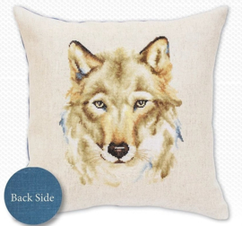 BORDUURPAKKET PILLOW WOLF - LUCA-S