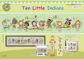 BORDUURPAKKET TEN LITTLE INDIANS - TSC