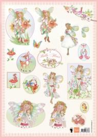 Knipvel Belle Fleur 2  - Marianne Design