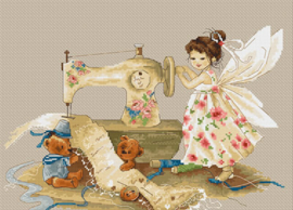 FAIRY (NEEDLEWORK) (aida)