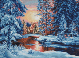 WINTER LANDSCAPE (aida)