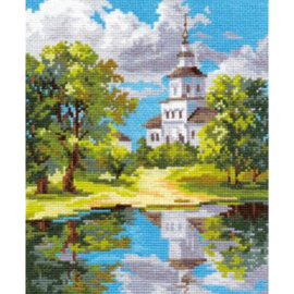 THE CHURCH NEAR THE POND - ALISA