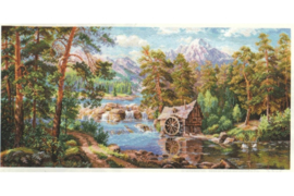 LANDSCAPE WITH A WATERMILL - ALISA