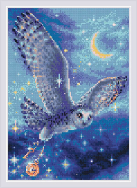 DIAMOND MOSAIC MAGIC OWL - RIOLIS