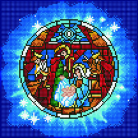 DIAMOND ART NATIVITY - LEISURE ARTS
