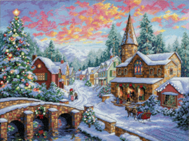 HOLIDAY VILLAGE - Dimensions (GOLD collection)