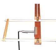 Extra aanzetstuk voor grotere borduurramen tot 60 cm