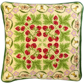 BORDUURPAKKET HANNAH DALE -  THE STRAWBERRY PATCH  - BOTHY THREADS