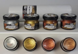COOSA Crafts Gilding Wax - 4 metallic kleuren (of set/4)