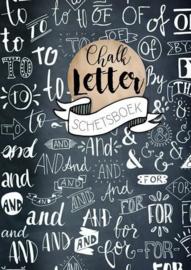 Chalk letterschetsboek - BBNC