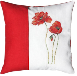 BORDUURPAKKET PILLOW POPPIES - LUCA-S