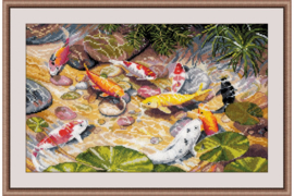 NINE KOI CARPS S1036 - OVEN