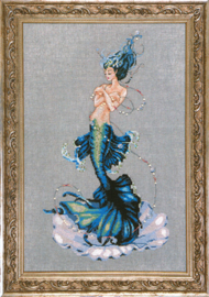 BORDUURPATROON APHRODITE MERMAID - MIRABILIA DESIGNS