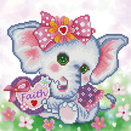 DIAMOND DOTZ FAITH - NEEDLEART WORLD