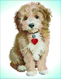 DIAMOND DOTZ LOVELY BOY - NEEDLEART WORLD