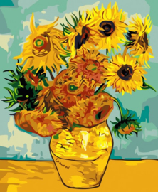 PAINT BY NUMBER FLOWERS IN VASE 50 x 40 cm