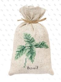 BAGS - BASILICUM (weefstof) Kruidenzakje