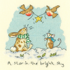 BORDUURPAKKET ANITA JERAM - STAR IN THE BRIGHT SKY - BOTHY THREADS