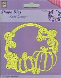Nellie Snellen shape die Pumpkins SDL013