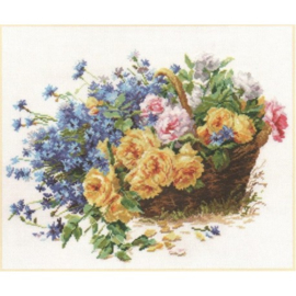ROSES AND CORNFLOWERS - ALISA