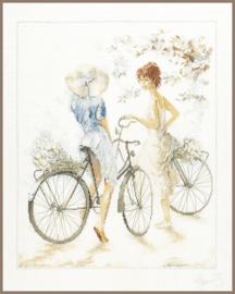 Romance - Meisjes op de Fiets (linnen)