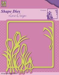 Nellie Snellen shape die Krokus SDL016