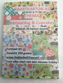 Decor Karton Verjaardag & Cupcakes (24)