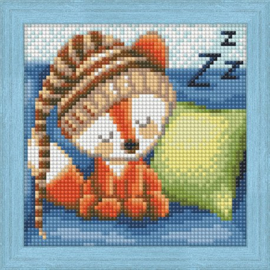 DIAMOND PAINTING KIT DREAMING FOX AZ-1573