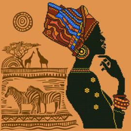 DIAMOND DOTZ AFRICAN ELEGANCE - NEEDLEART WORLD