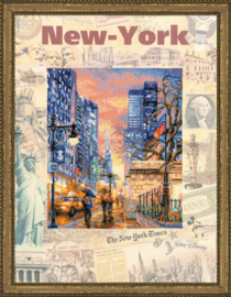 BORDUURPAKKET CITIES OF THE WORLD, NEW YORK - RIOLIS