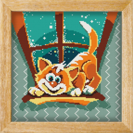 Diamond painting MANDALA FUNNY ANIMALS READY TO PLAY