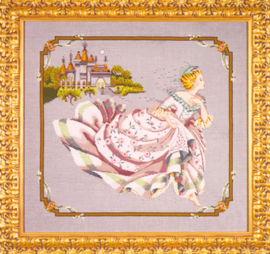 BORDUURPATROON CINDERELLA - MIRABILIA DESIGNS