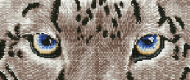 DIAMOND DOTZ SNOW LEOPARD SPY - NEEDLEART WORLD