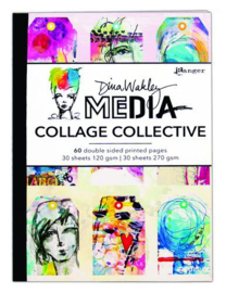Ranger DWM Mixed Media Collage Collective MDA66095 Dina Wakley