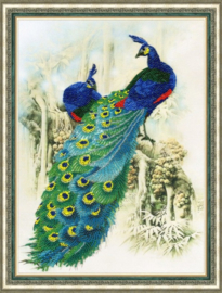 KRALEN BORDUURPAKKET EMERALD PEACOCKS S/RT016