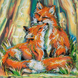 KRALEN BORDUURPAKKET LITTLE FOXES - ABRIS ART