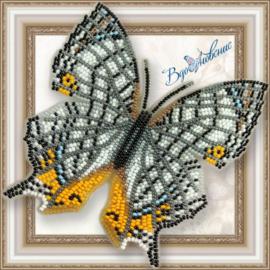 Kralen borduurpakketten Vlinders (magneten)
