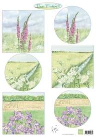 Marianne D 3D Knipvellen Tiny's bloemenweide 2