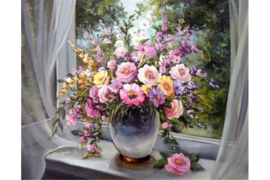 WINDOW BOUQUET WD006 48 x 38 cm