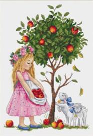 LITTLE GIRL: APPLE TREE