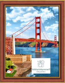 GOLDEN GATE BRIDGE (30 x 40 cm)